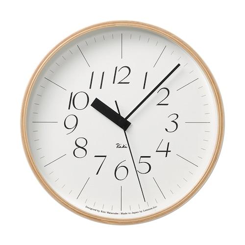 Riki Clock 電波時計 (WR20-01)