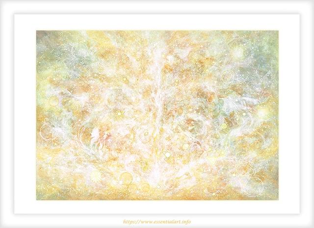 ☆定額制☆『祈り』~アクリル画 原画作品~ヒーリングアート、癒しの絵画