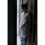 【hippiness × Sakurako.】cupro workdress(beige)/ 【ヒッピネス × サクラコ.】キュプラ ワークドレス( ベージュ)