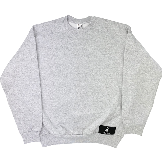 NEWTCITY Official Sweat Gray