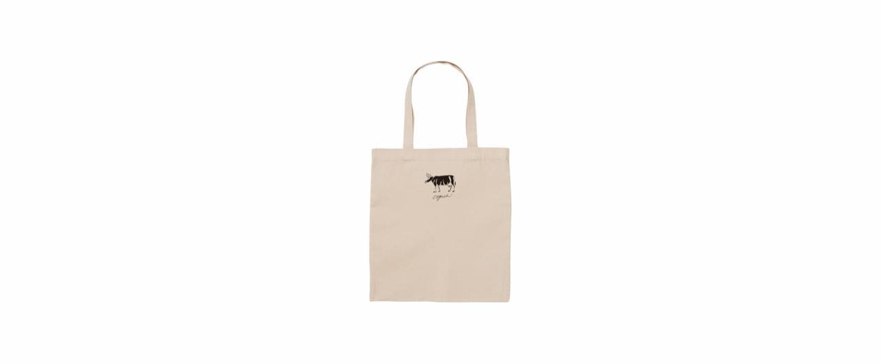 coguchi cow tote bag (NATU)