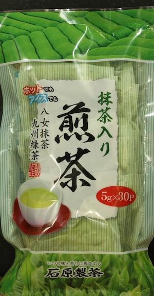 抹茶入り煎茶ティーバッグ30p