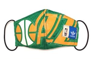 【デザイナーズマスク 吸水速乾COOLMAX使用 日本製】NBA SPORTS MASK CTMR 0227008