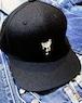 DRIP BANANA EMBROIDERED FLAT VISOR CAP