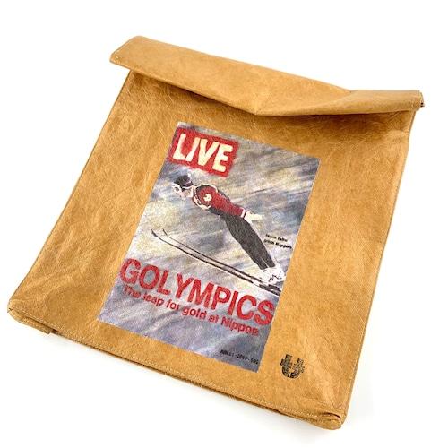 "SAPPORO ""GOLYMPICS"" LIVE Tyvek®︎ paper bag"