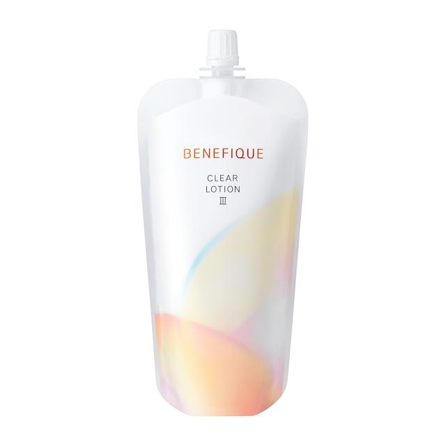 送料無料 資生堂 ベネフィーク クリアローションⅢ レフィル 180ml  化粧水(製品コード11095)