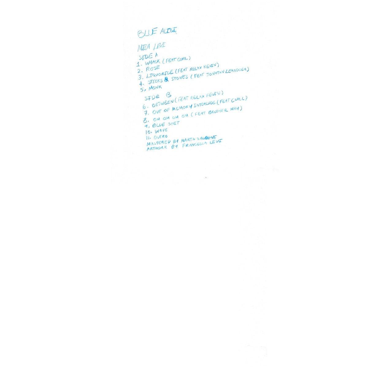 Mica Levi / Blue Alibi(LP)