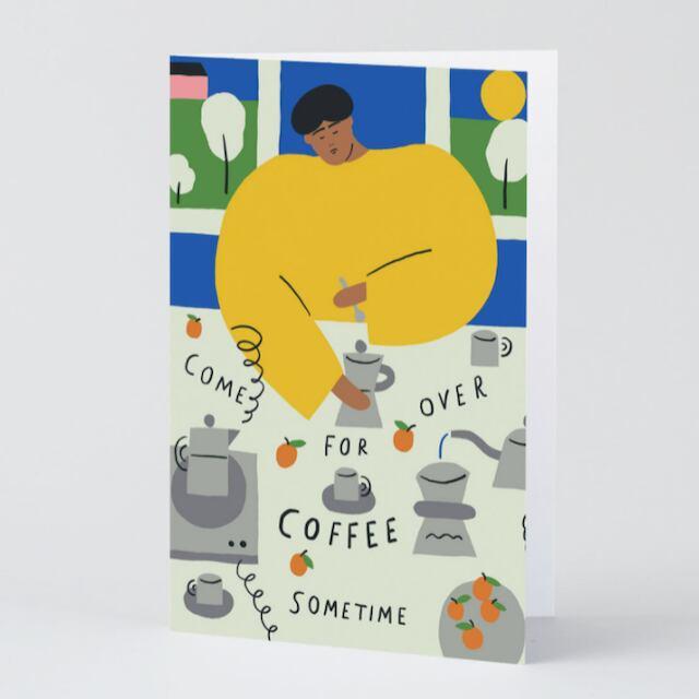 WRAP / Invitation ART CARD -Artwork by Karl-Joel Larsson-