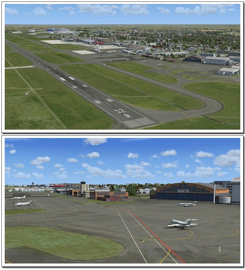 Xプレイン10拡張パック トゥールーズ空港