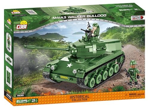 COBI #2239 M41ウォーカー・ブルドッグ軽戦車 #