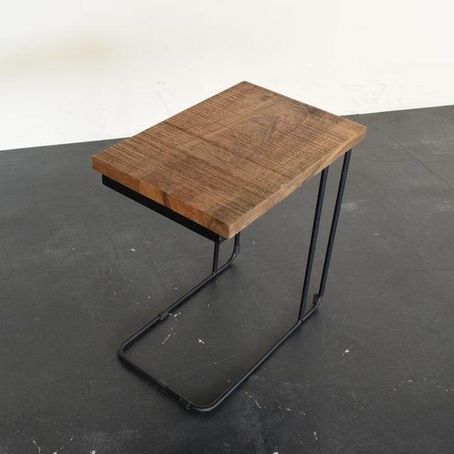 U IRON SIDE TABLE アイアンサイドテーブル NATURAL