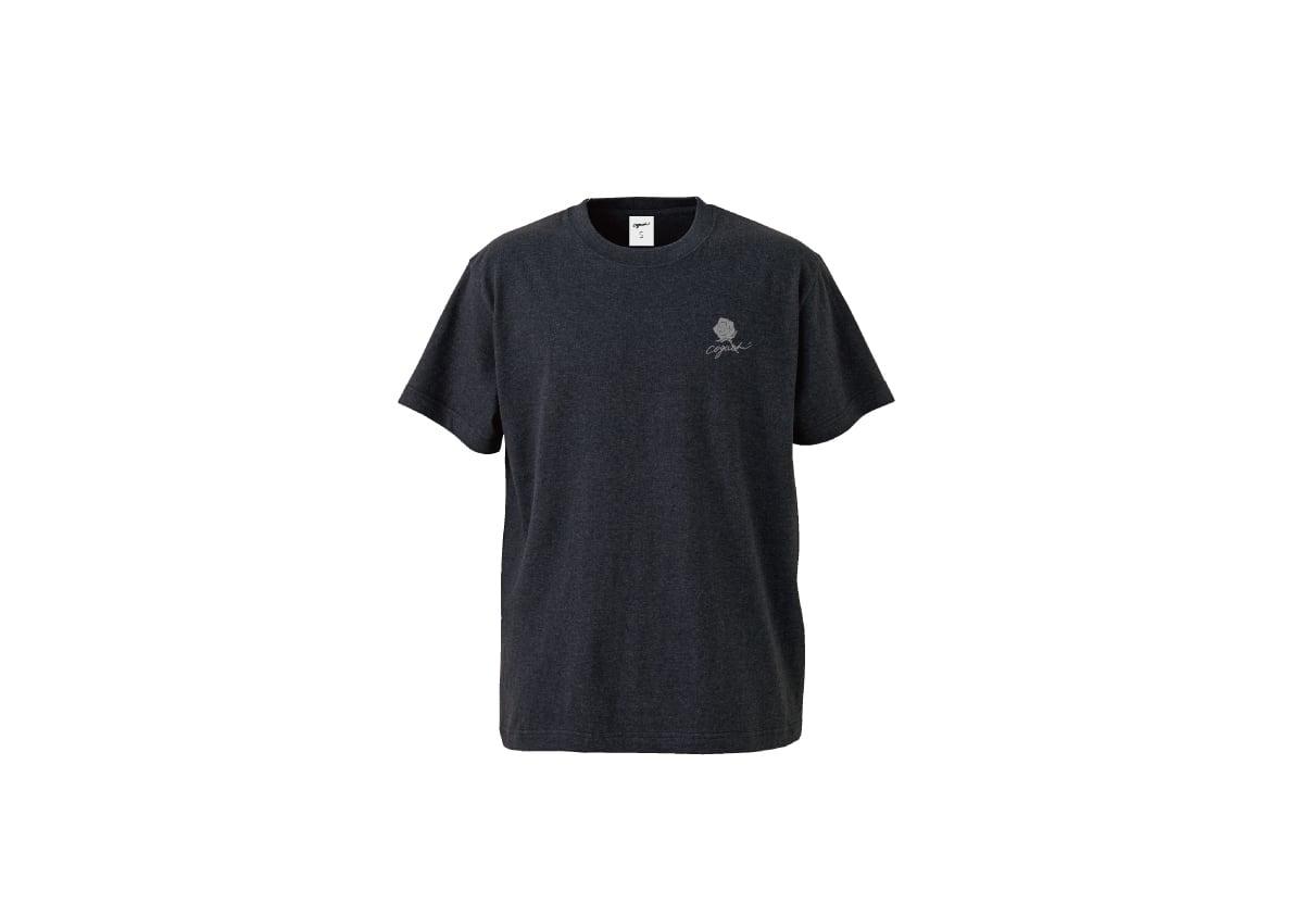 Rose T-shirt(dnv/gry)