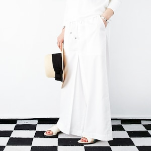 [OUTLET] L'Ancre (アンカー)テンセルデニムニュートロンパンツ