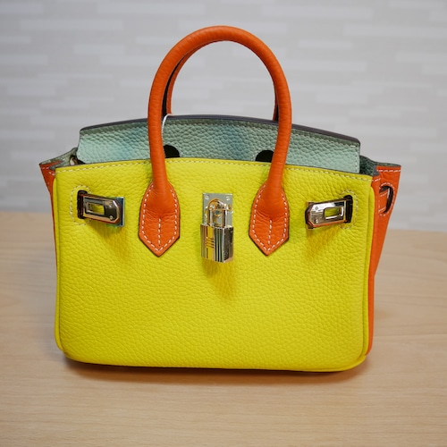 leather bag 20CM