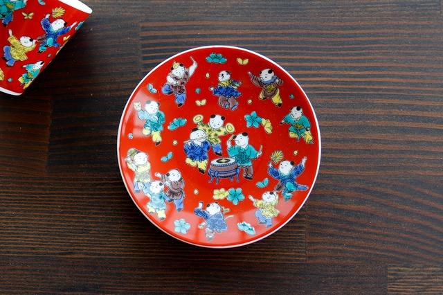 【SP3K19-15】『九谷縁起豆皿コレクション』『木米〈MOKUBEI〉』 *かわいい豆皿 コレクション アクセサリー入れ 小物入れ 絵皿 九谷焼