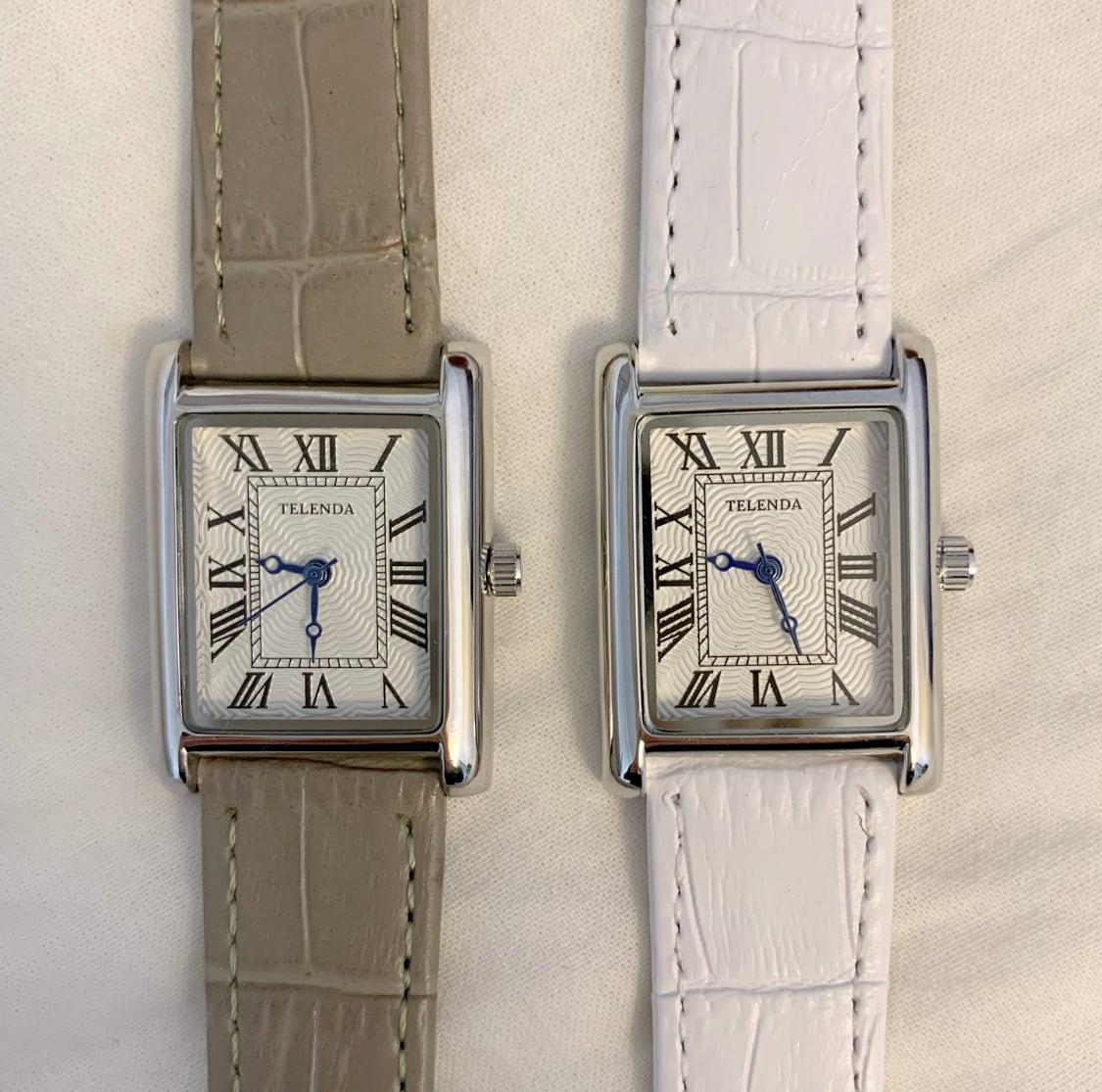 DAYNYC telenda watch(white/gray)
