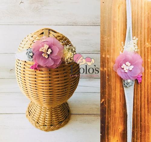 紫愛花(さやか)tieback21