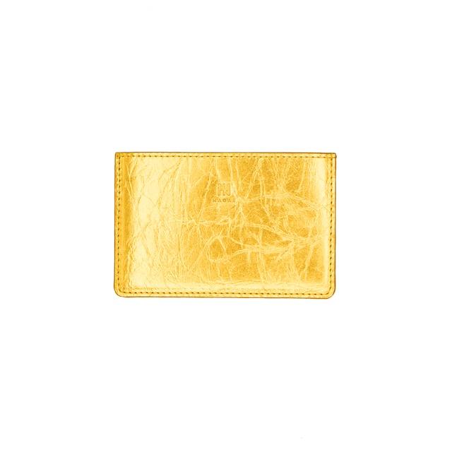 《名刺入れ》TIN BREATH Business card case single Gold