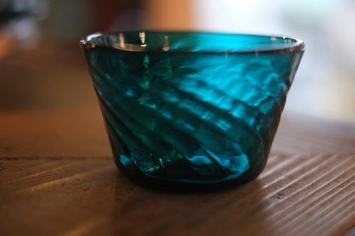 【倉敷ガラス・小谷栄次】◆◆◆小鉢◆◆◆小谷ブルー◆◆◆