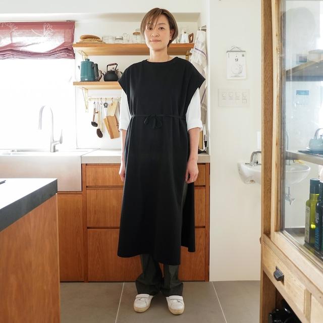 【MADE IN JAPAN】MAXI ONE-PIECE WORK WEAR / SLEEVELESS