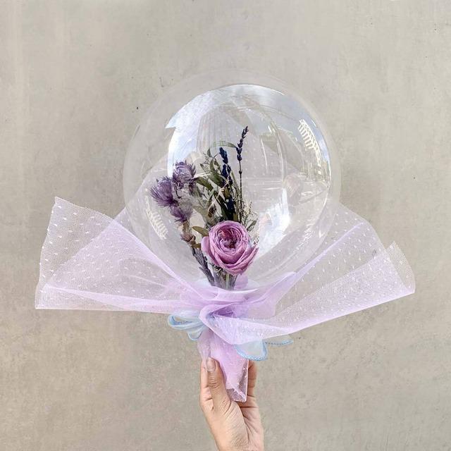 BALLOON FLOWER BOUQUET - glendale -