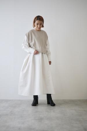 TENNE HANDCRAFTED MODERN | V neck dress with vest