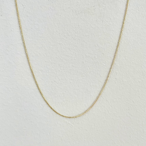 【14K-3-37】20inch 14K real gold chain necklace