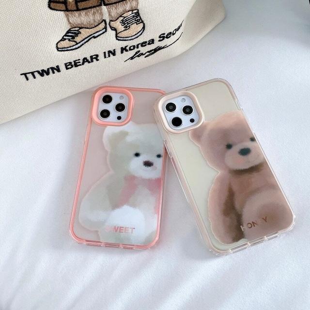 Fantasy teddy bear iphone case