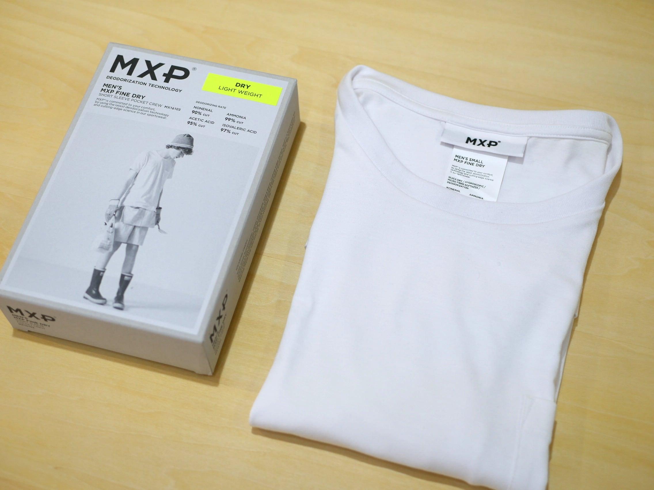 MXP / FINE DRY  POCKET-T(WHITE)