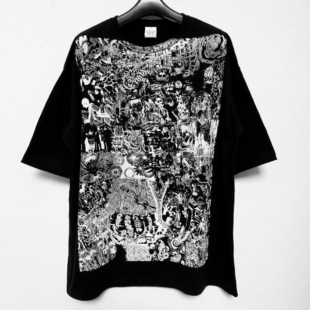 ビッグシルエットTシャツ:『毒薬』DieodeDesign - メイン画像
