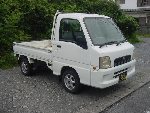 スバル サンバートラック 平成14年 4WD 5速マニュアル