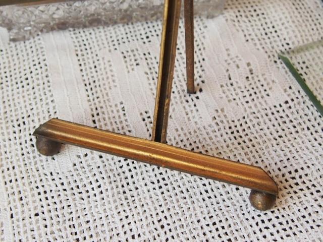 フランスアンティーク リボン飾りのフォトフレーム