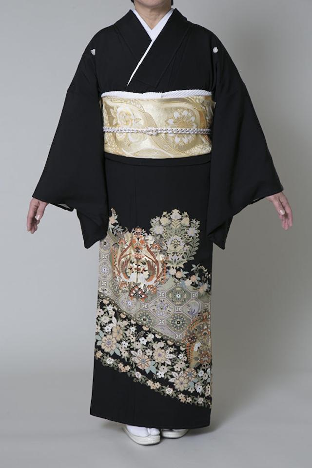 【レンタル】黒留袖 TAM-5(Mサイズ)