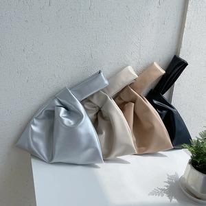 【バッグ】デザインハンドバッグ(4color)