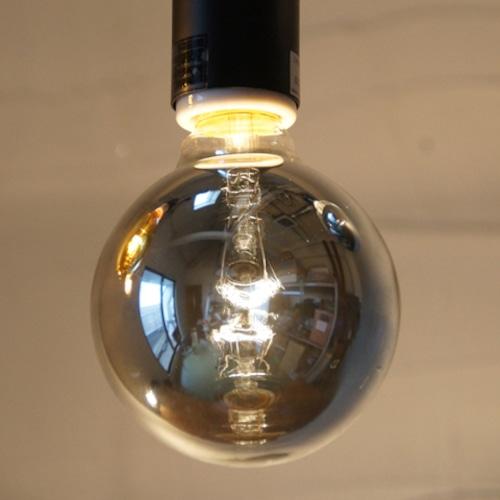 E26 20W ハニーボールランプ シルバー(白熱電球)※電球のみ