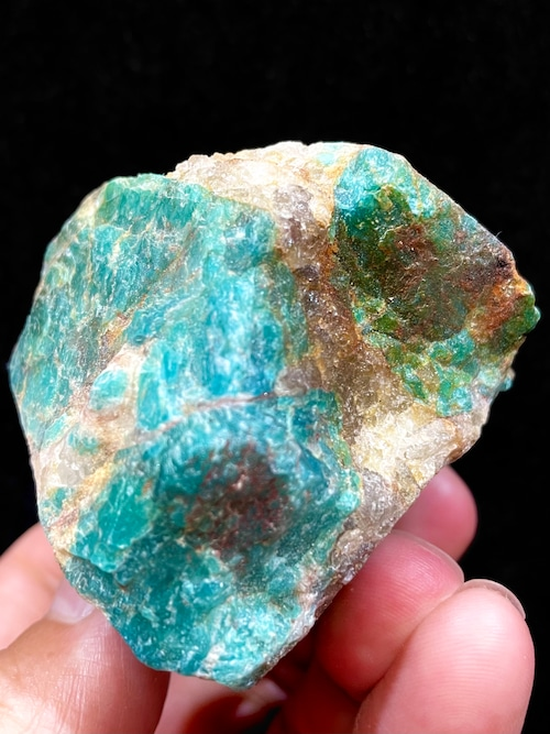 11) ロシアン・アマゾナイト原石