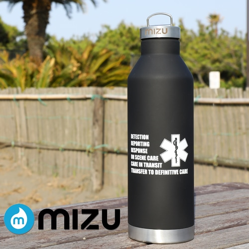 GUARD ガード mizu×GUARDコラボ[V8(760ml)]真空2層構造 保温保冷ステンレスボトル guardmizuv8