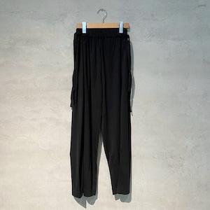 【HENRIK VIBSKOV】Vanilla Jersey Pants/ Black /No.52-94-B