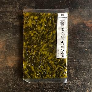 化学調味料・保存料無添加で切らなくていい。本発酵たかな漬ーきざみー