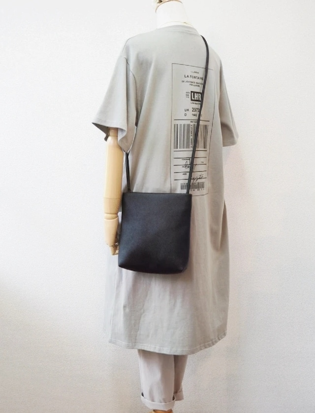 【SALE】back printed one-piece  <gray>