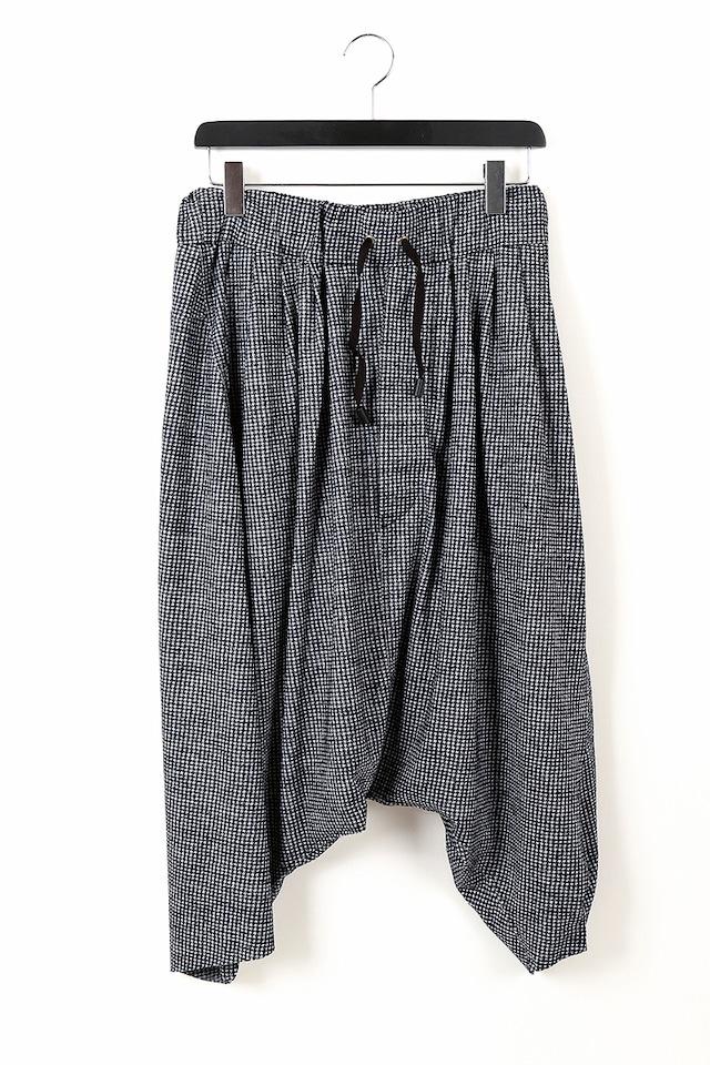 ウール:ガウチョパンツ GAUCHO PANTS 1105 ミハイルギニスアオヤマ[MADE IN JAPAN][税/送料込み]