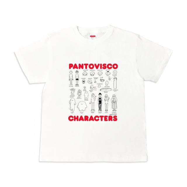 パントビスコ オールキャラクターズ Tシャツ