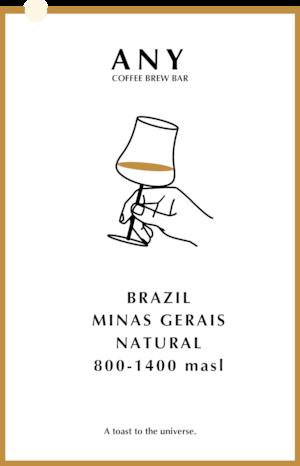 [生豆] Brazil, Minas Gerais - Natural 200g / ミナスジェライス - ナチュラル