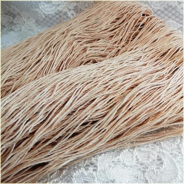 かせ糸:コットン100% 糸 濃いめの色 230g~250g  レース糸 マクラメ糸 毛糸