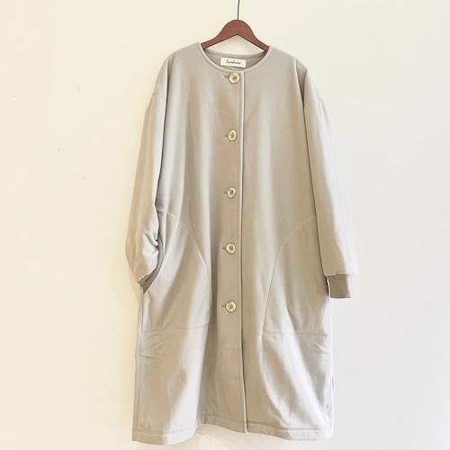 C-91285【POLARTEC WIND PRO】Plain Fleece Half Coat