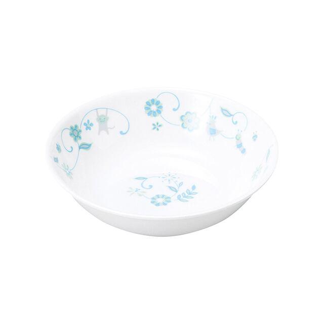 強化磁器 12.5cm 深小皿 サラサ・ブルー【1159-1320】