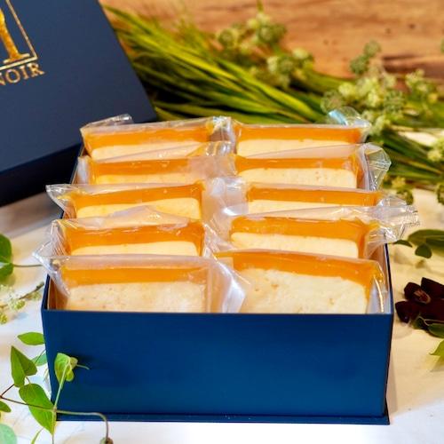 濃厚カマンベールチーズケーキ10枚入りセット