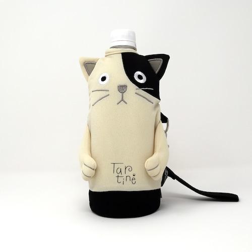 猫ペットボトルホルダー(シャロンタルティーヌ)ブチ