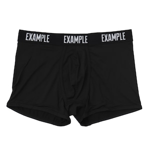 EXAMPLE UNDERWEAR 3PACK BOXER SHORTS / BLACK