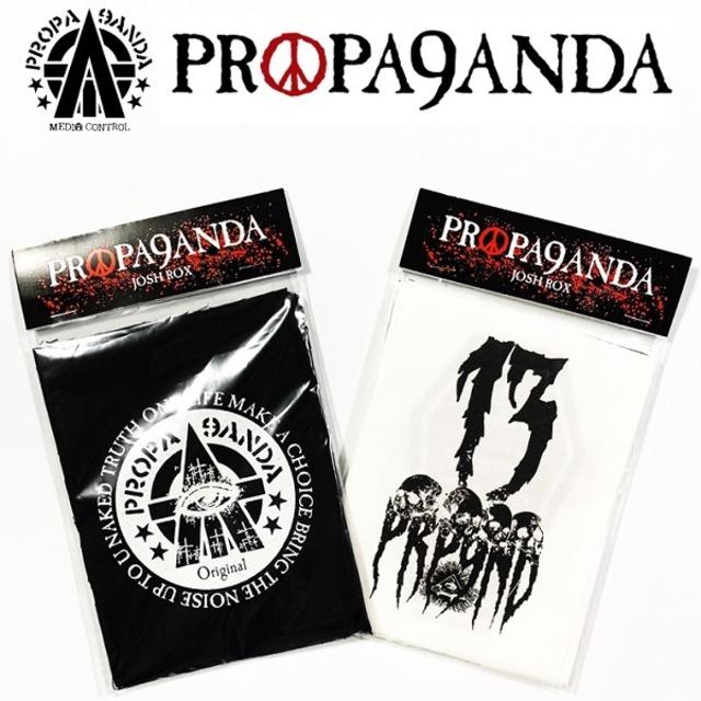 PROPA9ANDA / プロパガンダ「DEADLIE 6P PATCHES」6枚セット パッチ ワッペン 黒白 ブラック ホワイト スカル ドクロ メンズ レディース ロック パンク ROCK PUNK バンド ギフト ラッピング無料 ステージ衣装 Rogia